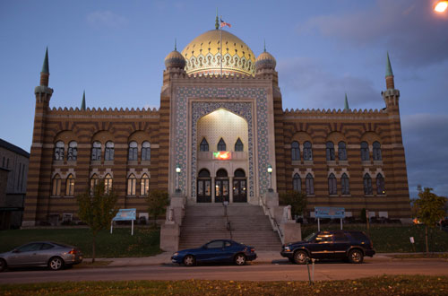 shriners architecture in milwaukee