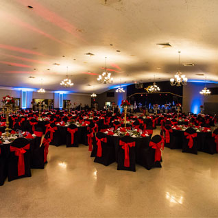 beautiful ballroom for rent