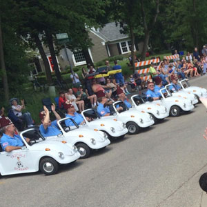 great unit paraders at shriners