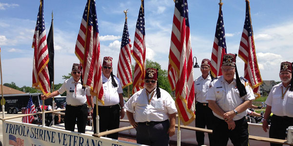 legion of honors veterans for parades