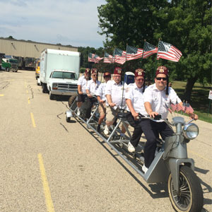 shriners long ride for parades